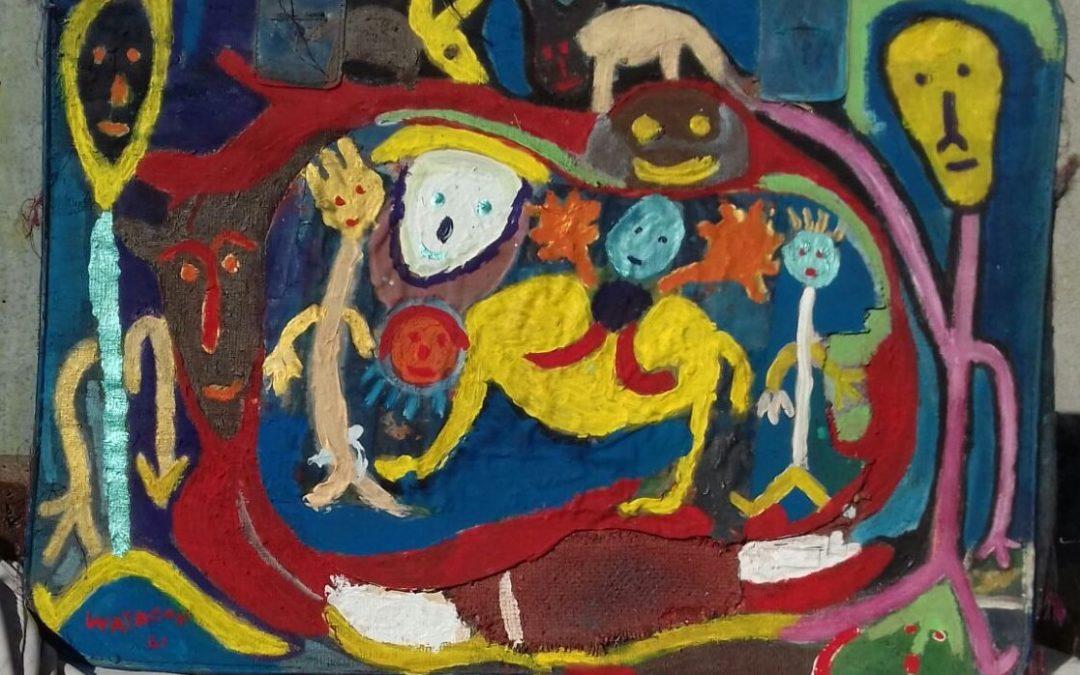 Waycòn- le opere naif del pittore cubano